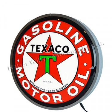 """15"""" Backlit """"Texaco Motor Oil"""" LED Wall Sign Fits Willys Accessory"""