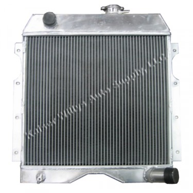 Aluminum Radiator Assembly - USA Made, 54-64 Truck, Station Wagon with 6-226 engine