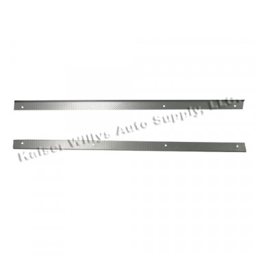 New Front Floor Mat Strips Fits  46-64 Truck, Station Wagon