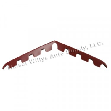 Red Horizontal Grille Bar, 50-64 Truck, Station Wagon, Jeepster