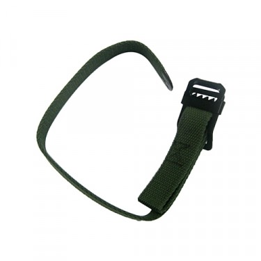 Windshield Hold Down Strap, Olive Drab, 41-64 MB, GPW, CJ-2A, 3A, 3B, M38