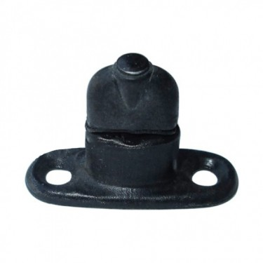 Windshield Cap Stand Stud (dual hole flat base), 46-49 CJ-2A