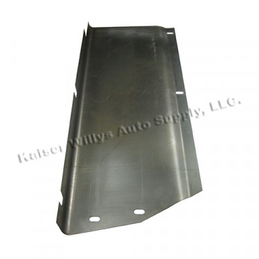 Front Pickup Bed Frame Skirt Panel, 46-64 Willys Truck