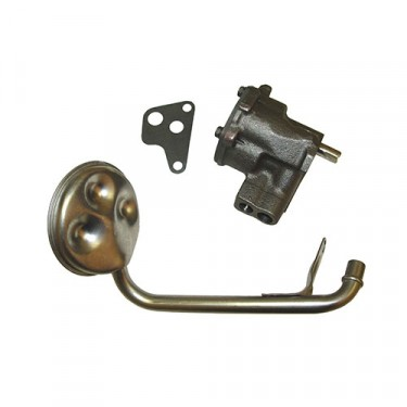 Oil Pump with Screen, 76-80 CJ with 6 Cylinder 232 258