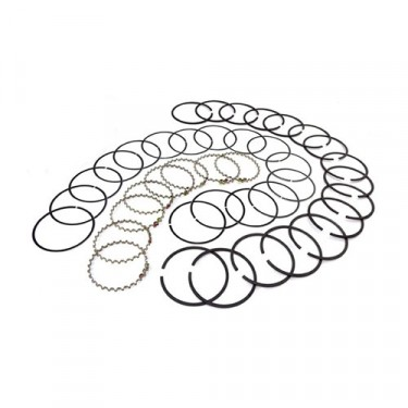 Piston Ring Set in .030 Inch o.s., 76-986 CJ with V8 304
