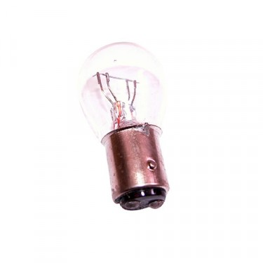 Tail Light Multifuction Bulb in Clear, 76-86 CJ