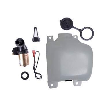Washer Bottle Assembly with Pump and Filter Kit, 76-86 CJ