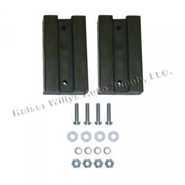 Rubber Spacer Block for Hood Kit, Willys MB, GPW