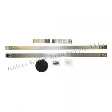 Fuel Tank Hold Down Strap Kit, 41-45 Willys MB