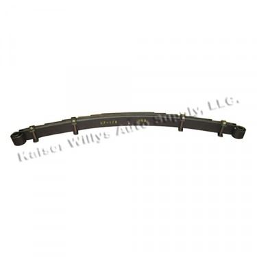 Front Leaf Spring Assembly 8 leaf, 46-55 Jeepster, Station Wagon with Planar Suspension