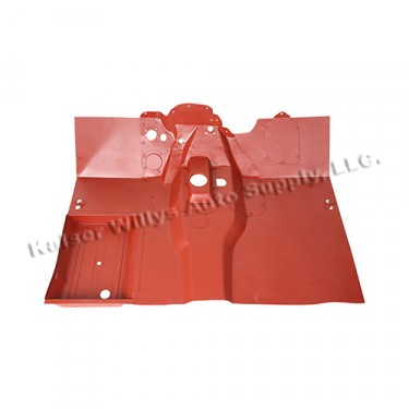 Complete Front Floor Pan with Welded Braces, 52-71 M38A1