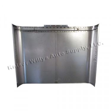 Made Steel Hood with Willys Logo, 41-53 MB, GPW, CJ-2A, 3A