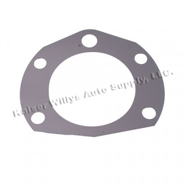 Axle Bearing Retainer Shim in .0003 Inch, 76-86 CJ with Rear AMC20