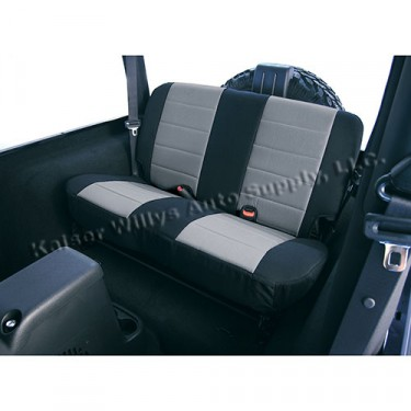 Fabric Rear Seat Covers, 80-86 CJ