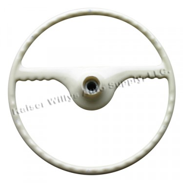 Ivory Steering Wheel, 46-49 Truck, Station Wagon, Jeepster
