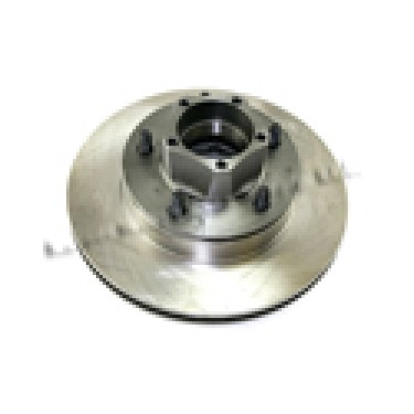 Front Factory Assembled Wheel Hub and Rotor with 7/8 Inch Thick Rotor, 81-86 CJ