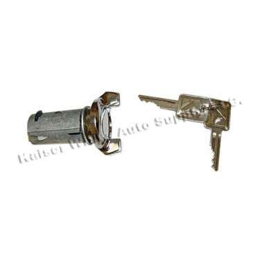 Ignition Lock and Cylinder with key, 76-86 CJ
