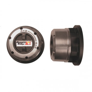 Rugged Ridge Premium Locking Hub Set, 46-71 Jeep & Willys with Dana 25/27
