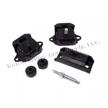 Drive Train Mounting Kit, 76-86 CJ with 6 Cylinder 258