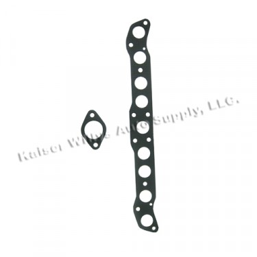 Manifold Gasket Set, 50-55 Station Wagon, Jeepster with 6-161 L engine
