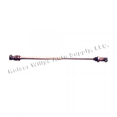 Lower Steering Shaft Assembly with Manual Steering, 76-86 CJ