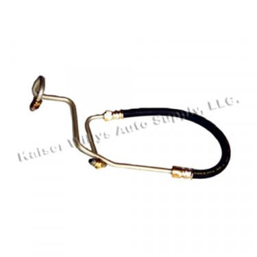 Power Steering Pressure Hose from Pump to Gear Box, 76-79 CJ with 6 or 8 Cylinder