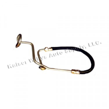 Power Steering Pressure Hose from Pump to Gear Box, 80-83 CJ with 8 Cylinder