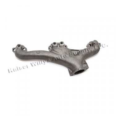 Driver Side Exhaust Manifold, 76-86 CJ with V8 AMC
