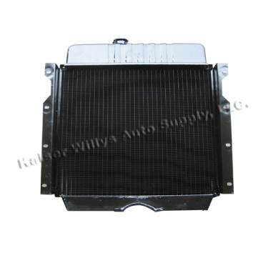 Radiator Assembly, 49-64 CJ-3A, 3B