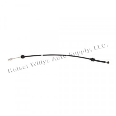 Accelerator Cable, 76 CJ with V8