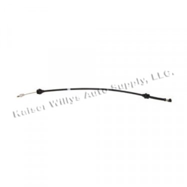 Accelerator Cable, 76-78 CJ with 6 Cylinder
