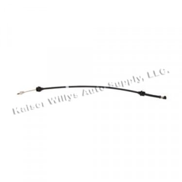 Accelerator Cable, 81-83 CJ with 2.5L 4 Cylinder
