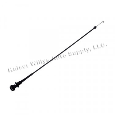 Heater Defrost Cable, 78-86 CJ