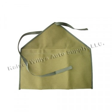 Original Military Style Canvas Bag, 41-71 Jeep & Willys