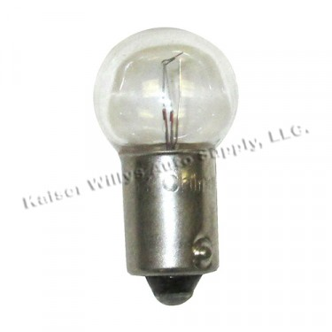 Parking Light Socket Bulb, 12 Volt, 46-53 CJ-2A, 3A, Truck, Station Wagon, Jeepster