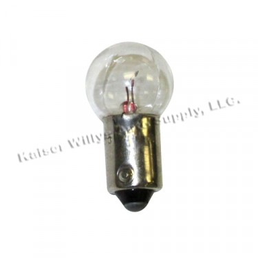 Parking Light Socket Bulb, 6 Volt, 46-53 CJ-2A, 3A, Truck, Station Wagon, Jeepster