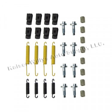 Complete Brake Spring & Hardware Master Kit, 46-64 Truck, Station Wagon, Jeepster