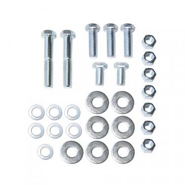 Flywheel Housing to Cylinder Block Hardware Kit, 46-71 Jeep & Willys