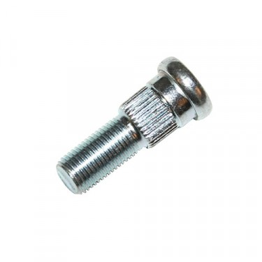 Front Passenger Side Thread Wheel Stud with Disc Brake, 77-86 CJ