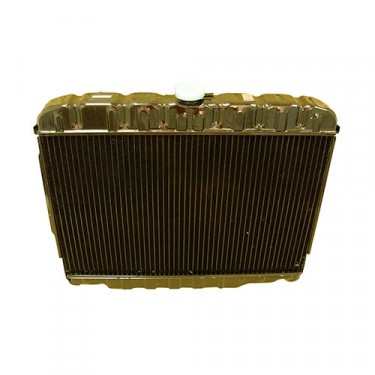 2 Core Radiator, 81-86 CJ with 6 or 8 Cylinder