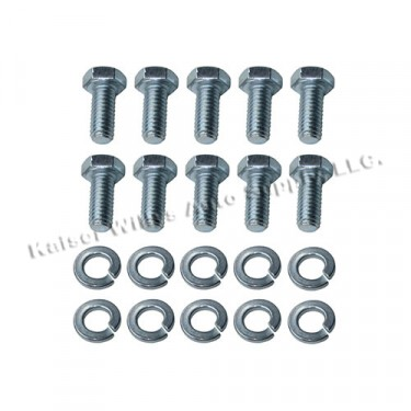 Rear Axle Differential Cover Hardware Kit, 46-49 CJ-2A with Dana 41