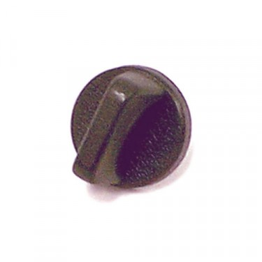 Interior Windshield Knob in Black, 76-86 CJ