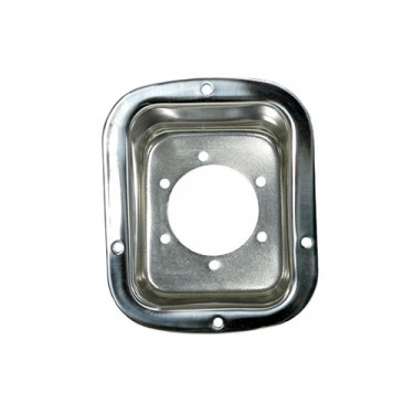 Gas Filler Housing in Stainless, 78-86 CJ