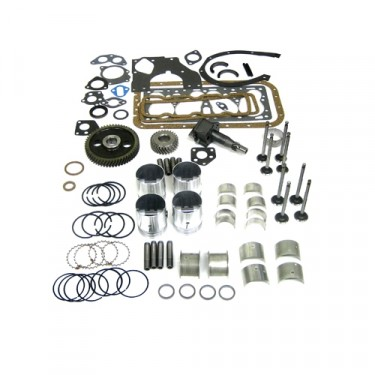 Complete Engine Overhaul Kit, 50-71 Jeep & Willys with 4-134 F engine