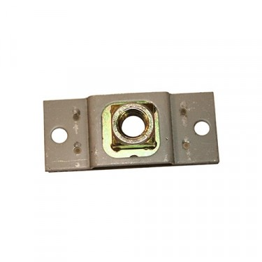 Door Latch Striker Plate, 81-86 CJ