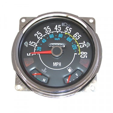 Speedometer Assembly, 5-85 Mile Dial Fits 80-86 CJ