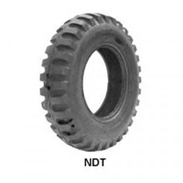 "STA Non Directional Tire 6.00 x 16"" 4 ply Square Shoulder Fits 41-71 Jeep & Willys"