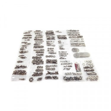 Body Fastener Kit, Tailgate, 76-83 CJ-5