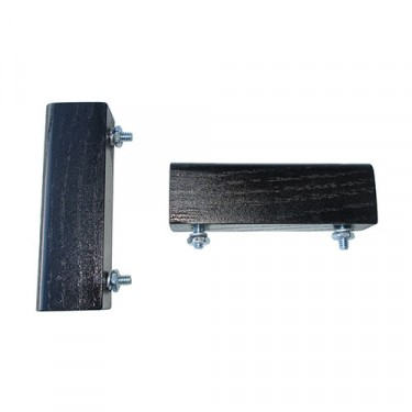 Wood Spacer Block Pair for Hood, 46-49 CJ-2A