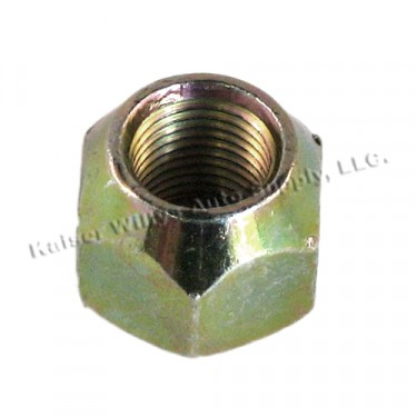 Wheel to Hub Bolt Lug Nut, LH, 41-71 Jeep & Willys